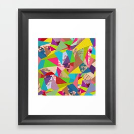 Colorful Thoughts Framed Art Print