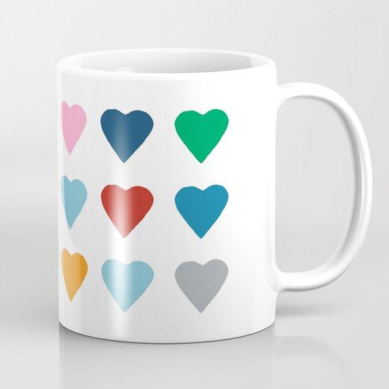 16 Hearts Mug