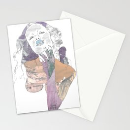 She's Not Simple Stationery Cards