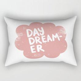 Day Dreamer in vintage pink Rectangular Pillow