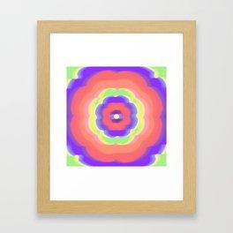 Flower powers Framed Art Print