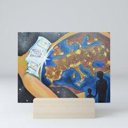 Reincarnation - lights of souls Mini Art Print