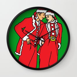 romantic picture, romantic christmas presents boyfriend, romantic gifts Wall Clock