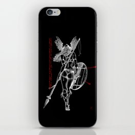 The Valkyrie - Negative iPhone Skin