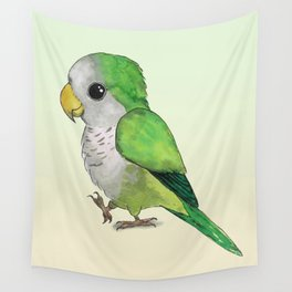 Very cute parrot Wall Tapestry
