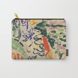 La Japonaise Woman beside the Water by Henri Matisse Carry-All Pouch