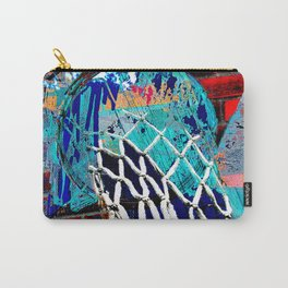 Basketball art swoosh 39 Carry-All Pouch