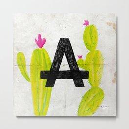 Cactus A Metal Print