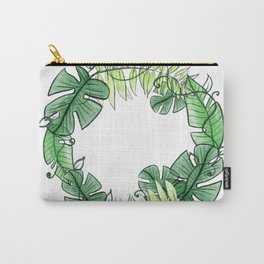 Tropical circle Carry-All Pouch