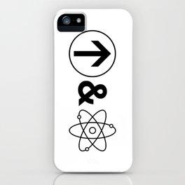 Up&Atom. iPhone Case