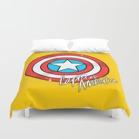shield Duvet Covers featuring Shield by Chelsea Herrick