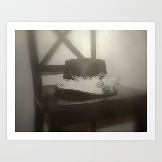 The Sunken Brow of Midnight Art Print