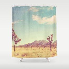 Joshua Tree photograph, desert print, No. 189 Shower Curtain