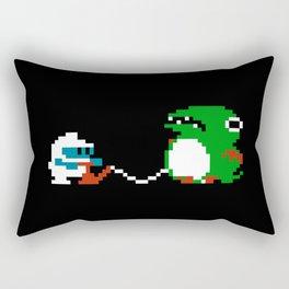 Dig Dug Pixel Art Rectangular Pillow