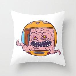 Krang! Throw Pillow
