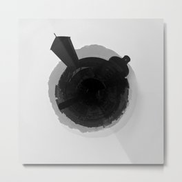 Santurtzi Little Planet Metal Print