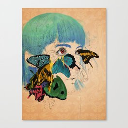Butterf Canvas Print