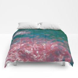 Flower Petals in the Wind Comforters