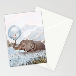 In a Bubble Stationery Cards