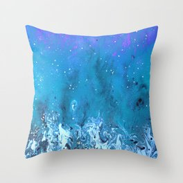Space Battle 2 Throw Pillow