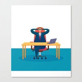 Big Boss - National Boss Day Canvas Print
