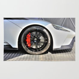 The New Ford GT Rug