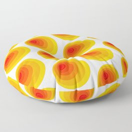 I'm eccentric type ( Psychedelic theme ) Floor Pillow