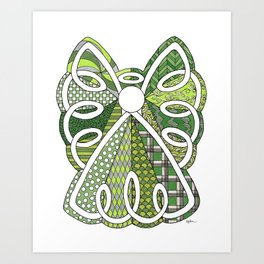 Lace Angel Art Print