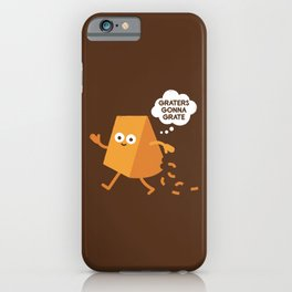 Don't Shred on Me iPhone Case