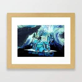 Just who the Shell do yo think I am Framed Art Print