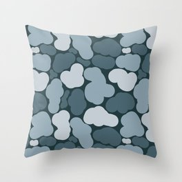 Camouflage 1 - pattern Throw Pillow