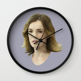 Jemma Simmons Wall Clock
