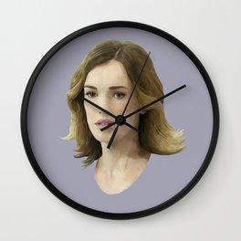 Jemma Simmons Wall Clock