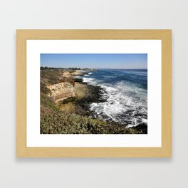 Coastline 2 Framed Art Print