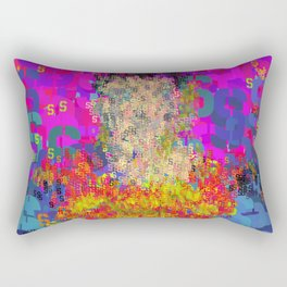 Superhero Type Art Comics SM Rectangular Pillow