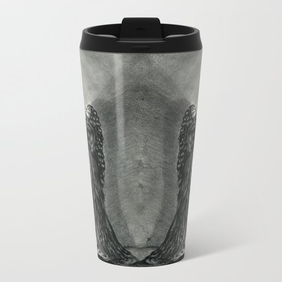 The Owl and the Witch Metal Travel Mug