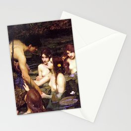 John William Waterhouse - Hylas and the Nymphs - 1896 Stationery Cards