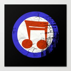 Music Mod Canvas Print
