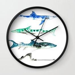 Shark Love Wall Clock