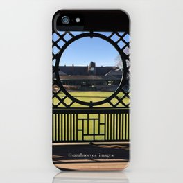 Autumn at the International Tennis Hall of Fame iPhone Case