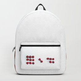 A Raspberry Day from 9 to 5 Backpack