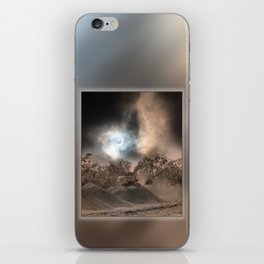 Heavy Duty Earthworks During An Eclipse iPhone Skin