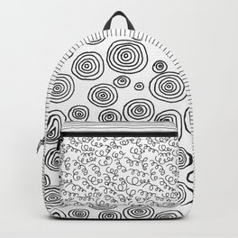Das Handy Collage Backpack