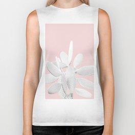 White Blush Cactus #1 #plant #decor #art #society6 Biker Tank