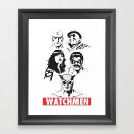 watchmen Framed Art Print