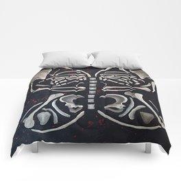 Butterfly Skeleton Comforters
