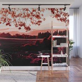 idyllic nature landscape va2s Wall Mural
