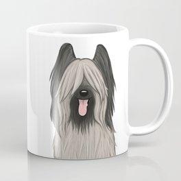Cute Briard Cartoon Dog Coffee Mug