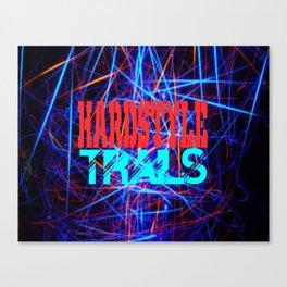 hardstyle trails Canvas Print