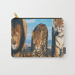 THREE BEASTS Carry-All Pouch